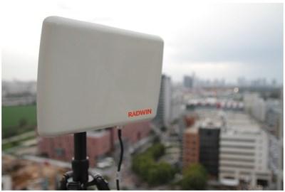 RADWIN 5000 JET PtMP Featuring A Smart Beamforming Antenna