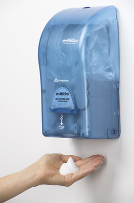 Georgia-Pacific's enMotion(R) brand general purpose soaps received Green Seal(TM) certification. This standard establishes environmental requirements for industrial heavy-duty hand cleaners and institutional hand cleaners.