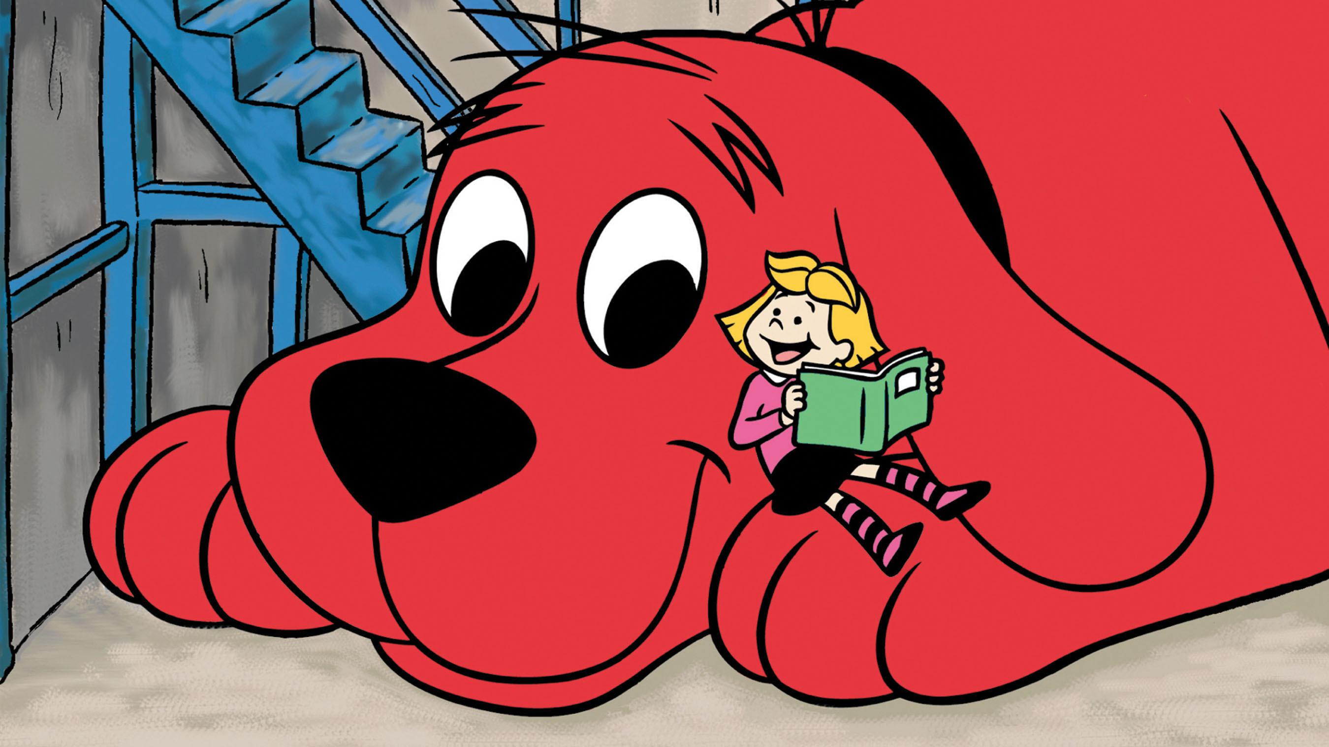 Popular children's TV series Clifford the Big Red Dog to stream on Netflix Beginning February 14. (PRNewsFoto/Netflix, Inc., Scholastic Inc. ) (PRNewsFoto/NETFLIX, INC.)