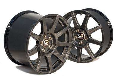 Carbon Revolution CR9 Front & Rear wheel.  (PRNewsFoto/Carbon Revolution)