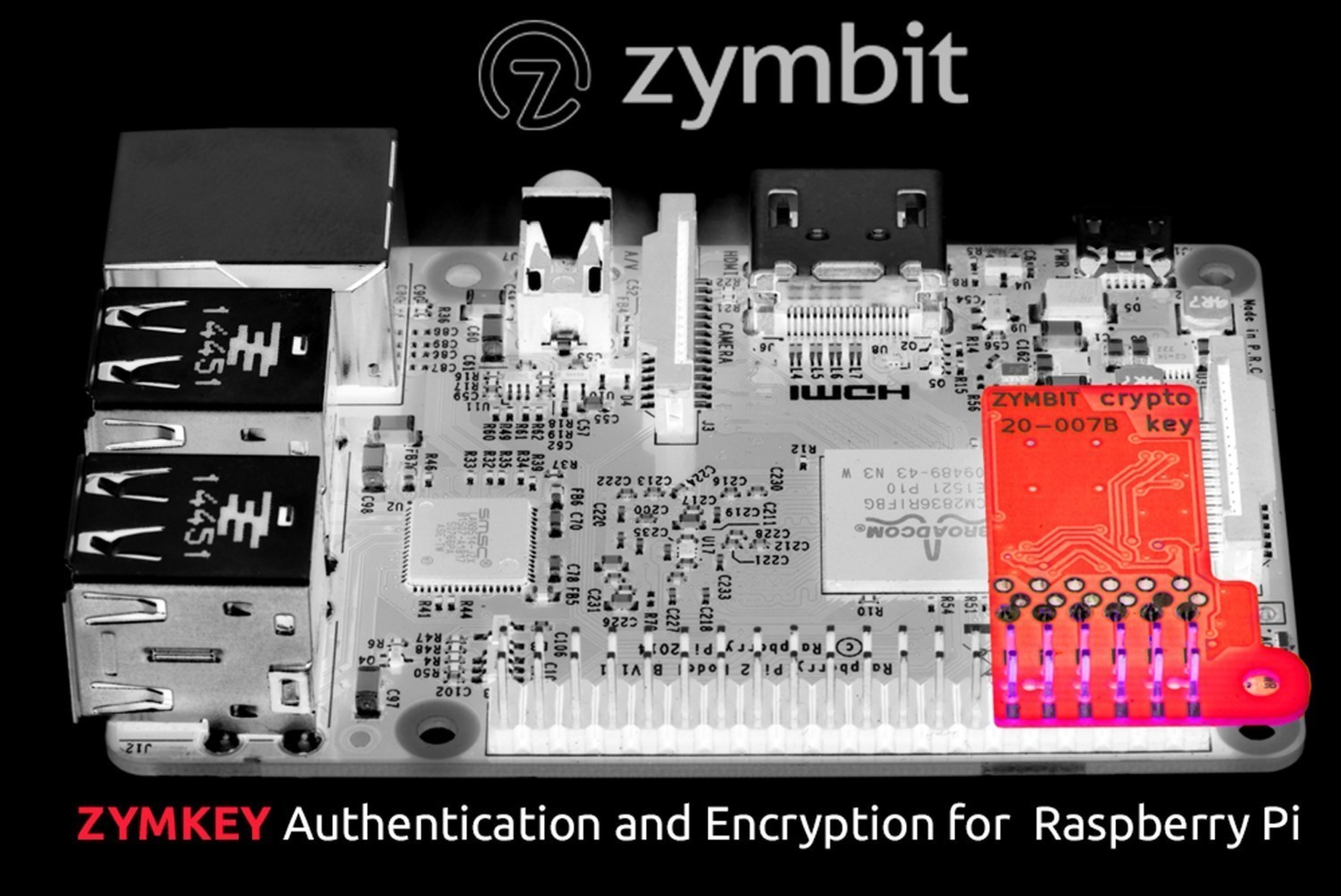 Zymbit Announces ZymKey for Improved Data Security for IoT Devices
