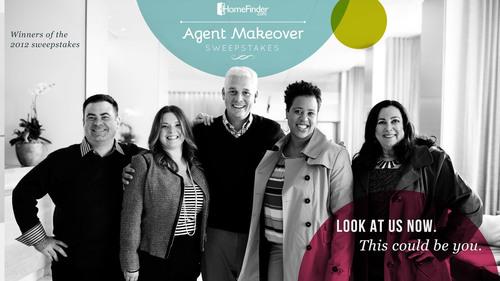 HomeFinder.com Agent Makeover Sweepstakes.  (PRNewsFoto/HomeFinder.com)