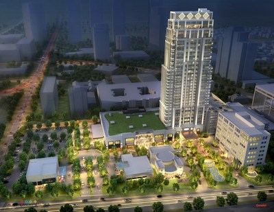 Tilman J. Fertitta unveils his newest venture The Post Oak, a 35-story tower which includes a luxury hotel and mixed-use development on 10-acres in Houston's prestigious Galleria/Uptown area.