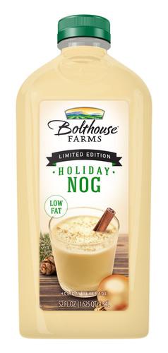 Bolthouse Farms Holiday Nog.  (PRNewsFoto/Bolthouse Farms)