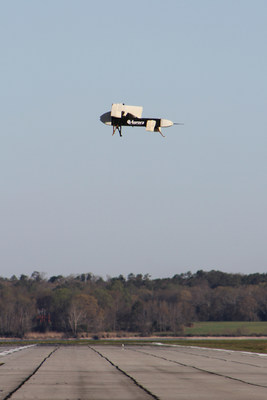 LightningStrike VTOL X-Plane subscale vehicle demonstrator takes to the sky