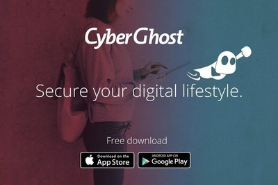 CyberGhost 6.0 for Windows: The complete one-click VPN solution to enjoy security and privacy