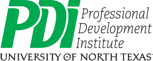 Logo of Professional Development Institute, located at The University of North Texas. PDI is a continuing ...