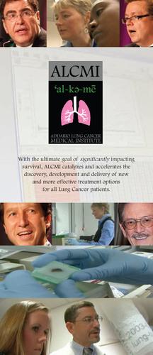 ALCMI Brochure Cover.  (PRNewsFoto/Addario Lung Cancer Medical Institute)