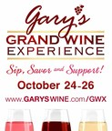 Gary's Grand Wine Experience 10/24-26: Three Days of Wine, Food & Philanthropy -- Get Your Tickets Now!