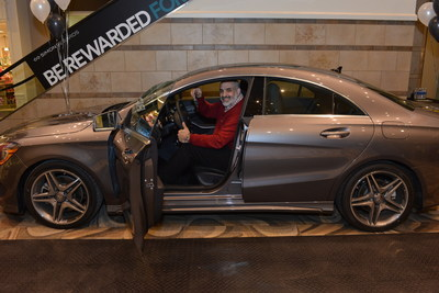 Local shopper wins big at simon s ross park mall for Mercedes benz loyalty program
