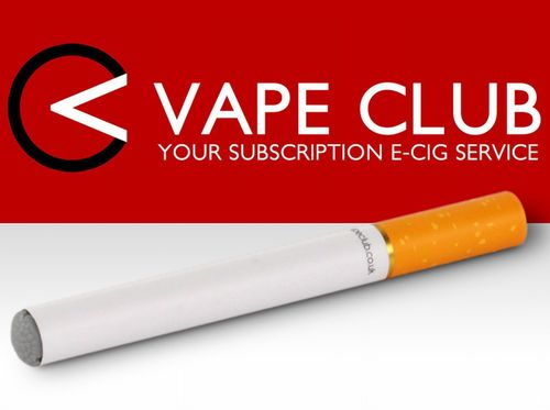 VapeClub - Your Electronic Cigarette Subscription Service (PRNewsFoto/VapeClub Ltd)