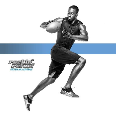 """AJ Green joins Rockin' Refuel as the face of the brand's new """"Rockin'"""" campaign."""