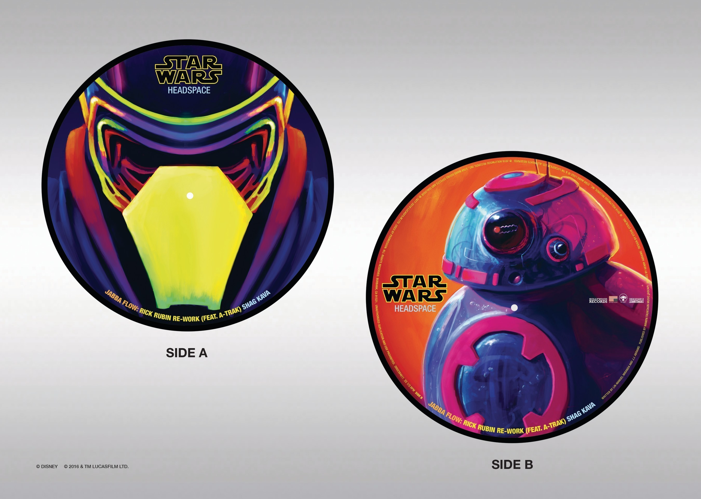 """New 10"""" Vinyl Single From Star Wars Headspace"""