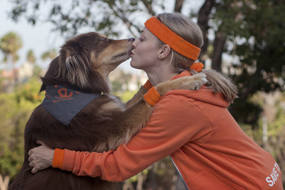 Amanda Seyfried and her dog Finn are the national spokesperson and spokesdog for Best Friends Animal Society's Strut Your Mutt presented by BOBS from Skechers national fundraising walks. Visit StrutYourMutt.org to find out how you can help homeless pets by joining with Amanda and Finn on the  9,000 Steps Challenge the 9th day of every month.