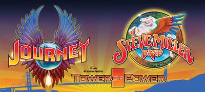 Journey And Steve Miller Band Summer 2014 Tour.  (PRNewsFoto/Live Nation)