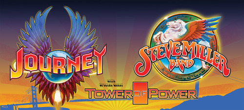 Journey And Steve Miller Band Summer 2014 Tour.  (PRNewsFoto/Live Nation)