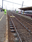 ECOTRAX rail sleepers used in major transit system in Europe (PRNewsFoto/AXION International Holdings)