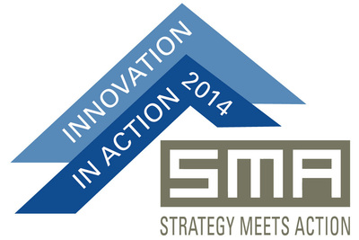 The 2014 SMA Innovation in Action Awards will be held during the SMA Summit, September 15, 2014 in Boston, MA. (PRNewsFoto/Strategy Meets Action)