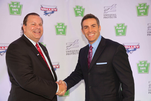 Unequal Technologies CEO, Rob Vito, partners with Kurt Warner. (PRNewsFoto/Unequal Technologies) ...