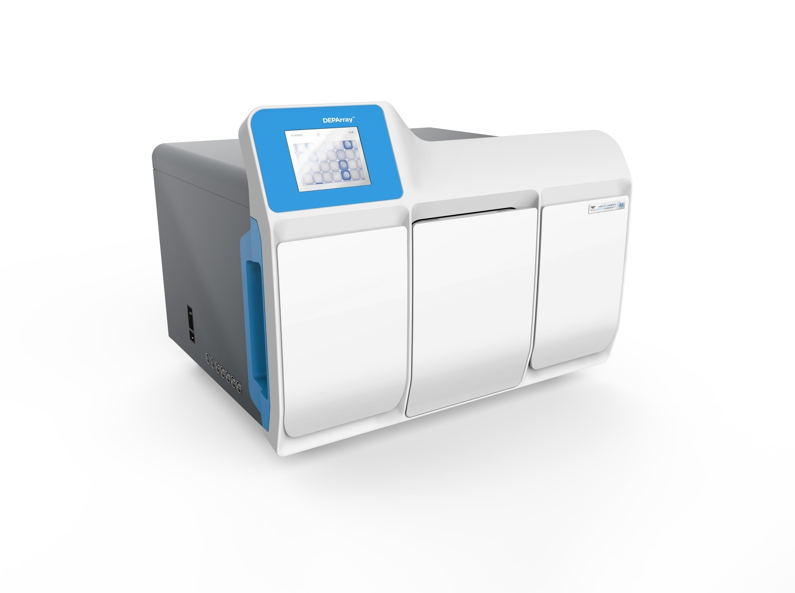 Presenting DEPArray NxT -- The new compact and more powerful benchtop instrument for faster, automated recovery of pure single cells or groups of cells. Isolate pure tumor and stromal cell populations from any FFPE sample. Recover single circulating tumor cells (CTCs) from blood samples for complete and accurate analysis of cancer genome aberrations. Manufactured by Menarini-Silicon Biosystems.