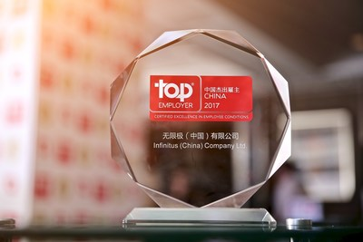 "Infinitus Recertified as ""Top Employer China"" by Top Employers Institute"