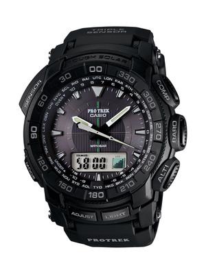 Casio Launches New Pro Trek Timepiece. PRG550-1A1 Equipped With Casio's Popular Triple Sensor Technology.  (PRNewsFoto/Casio America, Inc.)