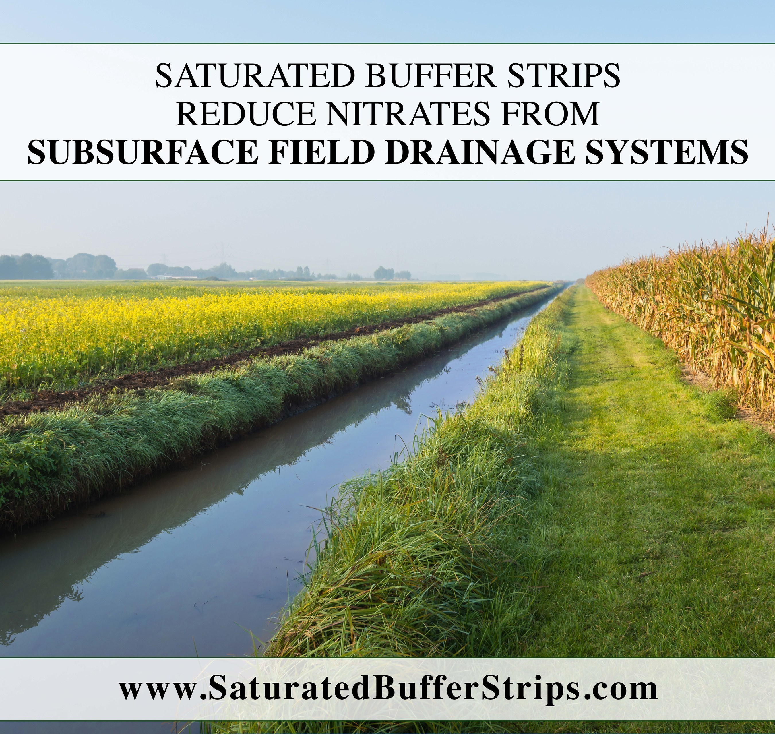 Research Substantiates that Saturated Buffers at Field Scale do Reduce Nitrates from Subsurface Field Drainage Systems