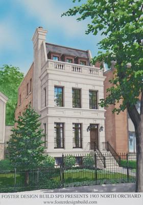 Foster Design Build SPD Presents 1903 N. Orchard Street in Chicago, Illinois - www.fosterdesignbuild.com. (PRNewsFoto/Foster Design Build) (PRNewsFoto/FOSTER DESIGN BUILD)