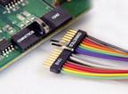 Omnetics Micro Strip connector with latch (PRNewsFoto/Omnetics)