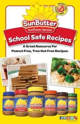 SunButter, the leading peanut free alternative to peanut butter, introduces a new School Safe, Peanut Free Recipe Book.