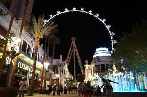 As the focal point of Caesars new $550 million outdoor shopping, dining and entertainment district The LINQ, ...