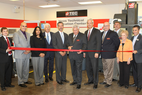 Lincoln College of Technology Launches CNC Machining in Grand Prairie Texas.  (PRNewsFoto/Lincoln Educational ...