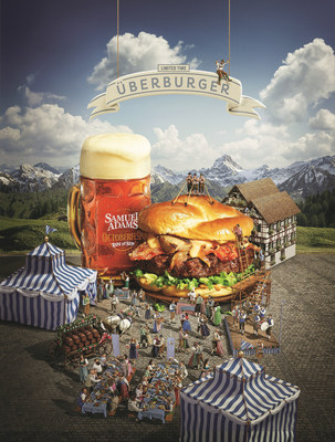 Now through Nov. 1, Red Robin is offering new Oktoberfest-inspired limited-time menu items including the latest addition to Red Robin's Finest(TM) premium burger line, the UberBurger. The juicy half-pound Black Angus burger, flame-grilled to order, is topped with candied bacon, grilled bratwurst and Samuel Adams(R) glazed onions, drizzled with Merkts beer cheese on a toasted hand-crafted pretzel bun with shredded romaine lettuce and beer mustard.