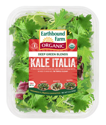 "Kale trend gets a zesty kick with new organic ""Kale Italia"" from Earthbound Farm"