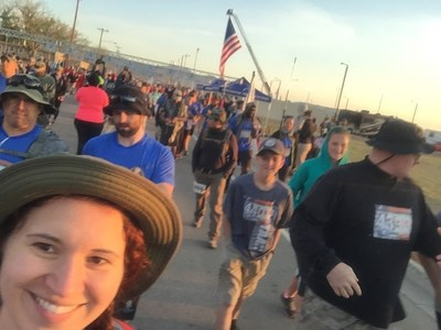 Wounded Warrior Project recently participated in the Bataan Memorial Death March.