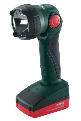 Metabo's New Compact, Halogen Flashlight Operates More Than Nine Hours Per Charge