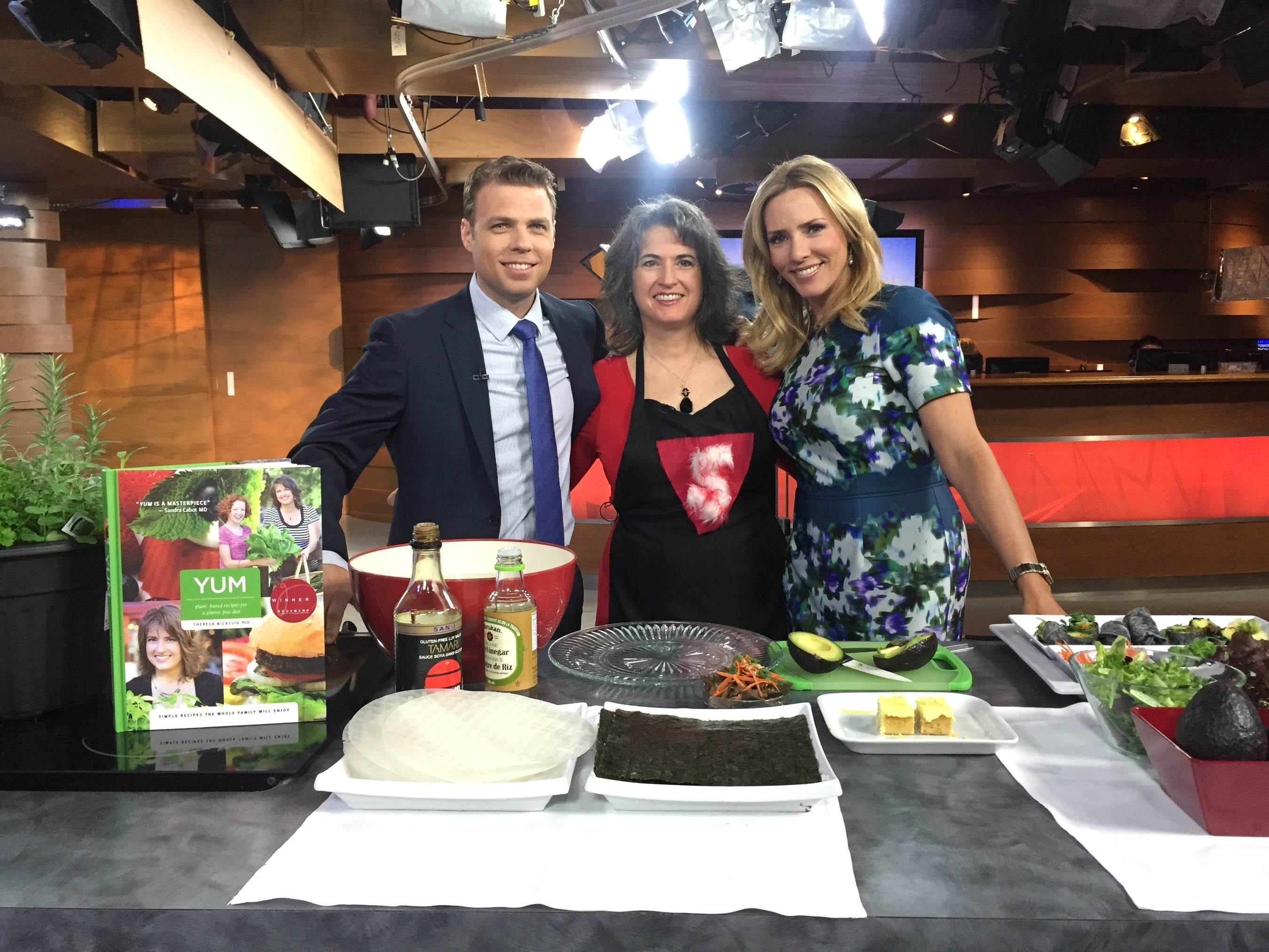 Dr. Theresa Nicassio Featured on CTV Morning Live Talking about YUM & Edible Gardening