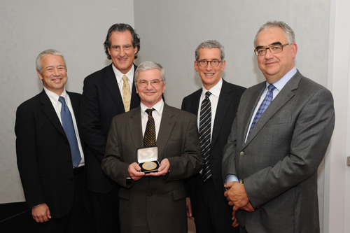 Johnson & Johnson Symposium Honors 2011 Recipient of The Dr. Paul Janssen Award for Biomedical