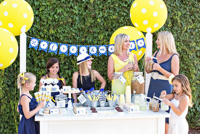 Add a hint of personality and a little flair to create a Stand Out lemonade stand this summer.  (PRNewsFoto/International Delight)