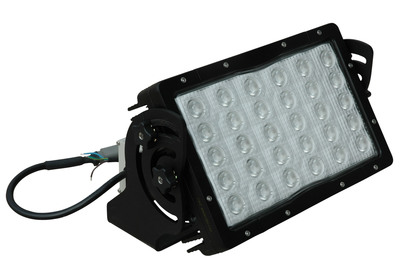 The LEDP5W-30-1227-20C High Output LED Light offers high output from a compact form factor and is ideal for use in mining applications as well as heavy equipment, hunting, boating, vehicle, military, law enforcement and industrial manufacturing uses. A 14,790 lumen output, 1.25 amp draw @ 120V, 50,000 hour service life and 120 to 277 volt AC compatibility provides mine operators with a rugged and powerful LED alternative to 400 watt metal halide lamps that uses little power and can withstand rugged use and abusive mining conditions.  (PRNewsFoto/Larson Electronics)