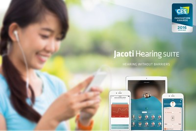 Jacoti Hearing Suite (PRNewsFoto/Hybe) (PRNewsFoto/Hybe)