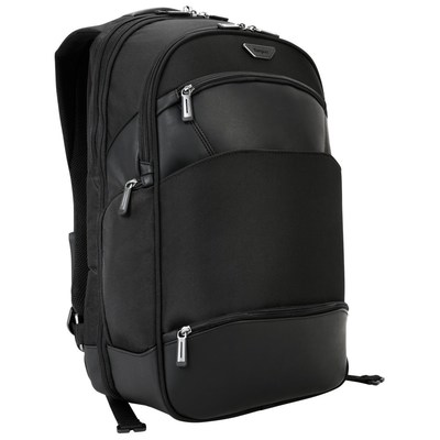 """The slim Targus 15.6"""" Mobile ViP Backpack delivers superior protection, maximum organization, and is expertly designed to help you fly through airport screenings."""
