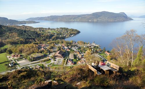 The installation of fiber-optic network with a speed of 1,000 Mb/s (1 Gb/s) has already begun in the fjord and ...