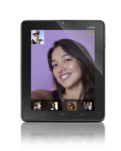 VIZIO 8' Tablet Now Supports Free Video Chats with Up to Six Friends Through ooVoo™