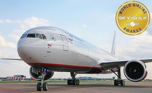 Skytrax Names Aeroflot Best Airline In Eastern Europe For The Fourth Time (PRNewsFoto/Aeroflot) ...