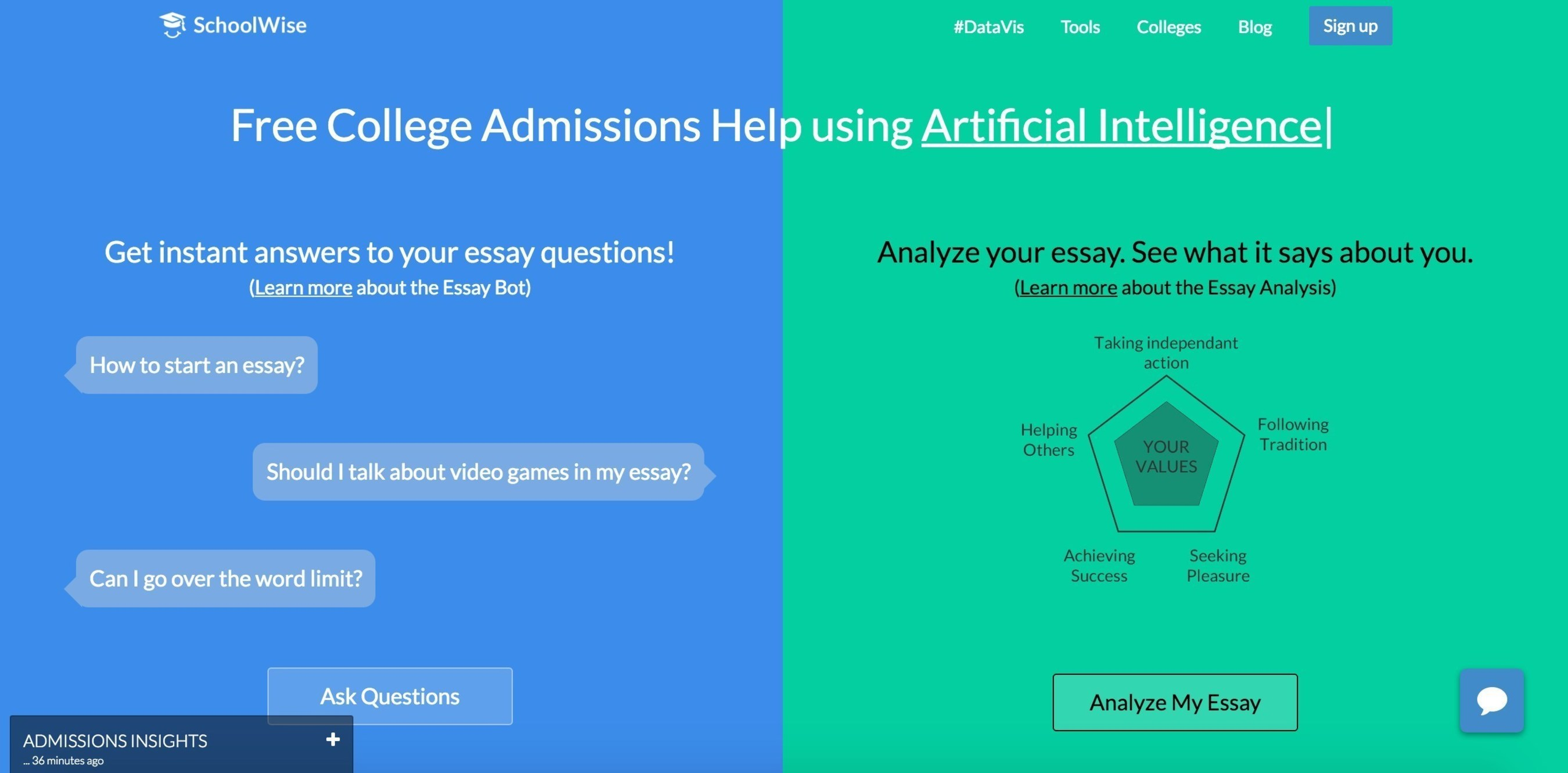This Startup Believes a Supercomputer Can Help You Write a Better College Application Essay