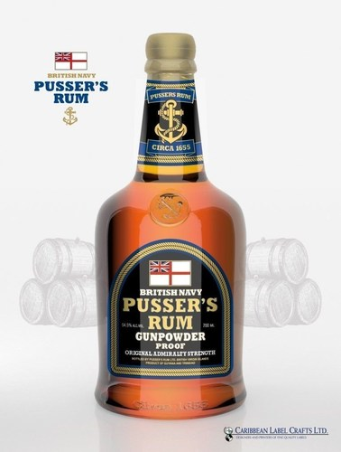 Celebrate the anniversary of Black Tot Day with a ration of the original Admiralty rum, Pusser's. (PRNewsFoto/Pusser's Rum) (PRNewsFoto/Pusser's Rum)
