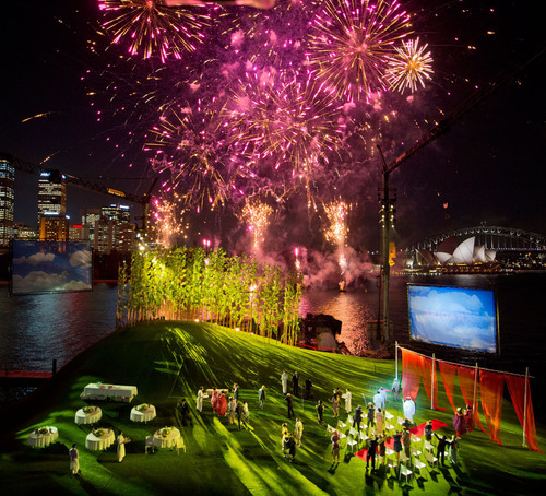 Opera on Sydney Harbour: Madama Butterfly. Photo James Morgan for Opera Australia.  (PRNewsFoto/Opera Australia)