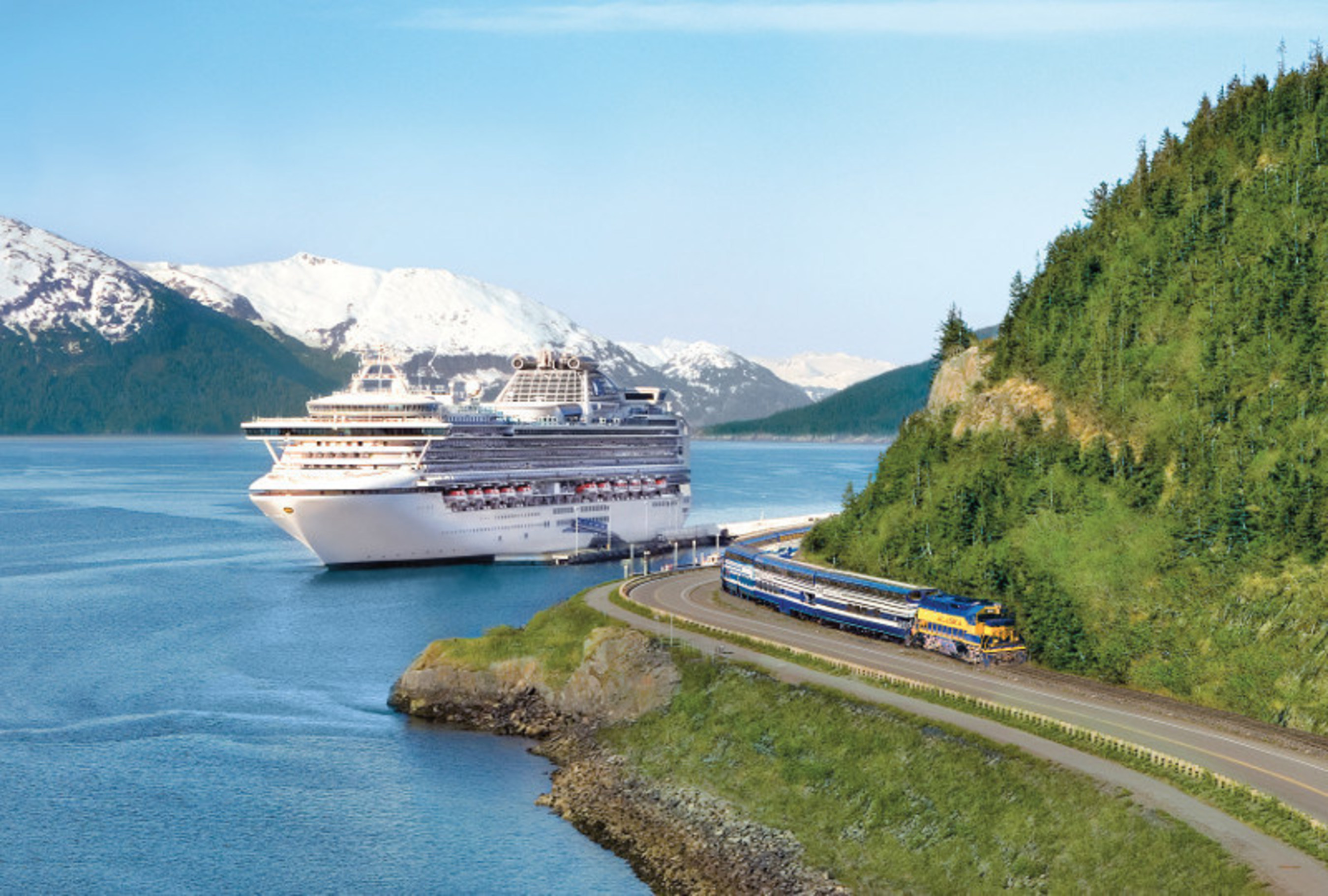 Princess Cruises Announces Largest Alaska Deployment Ever in 2018.