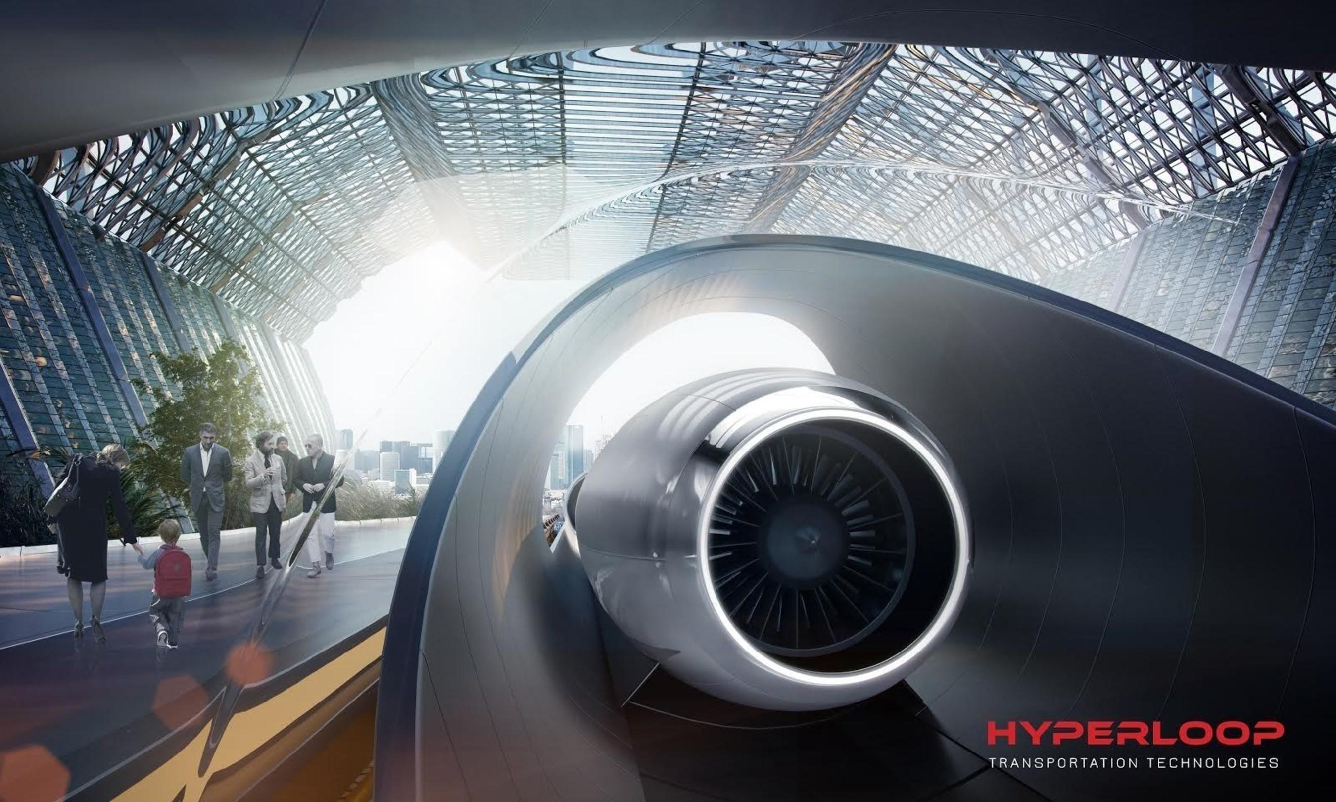 Hyperloop Transportation Technologies Surpasses $100 Million